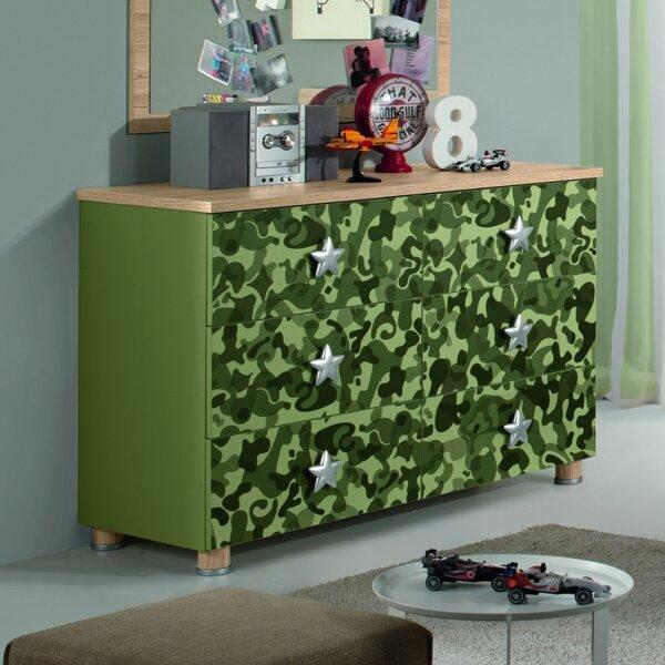 Deanne Kids 6 Drawer Dresser by Zoomie Kids