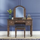 Caitlynn Vanity with Mirror by Longshore Tides