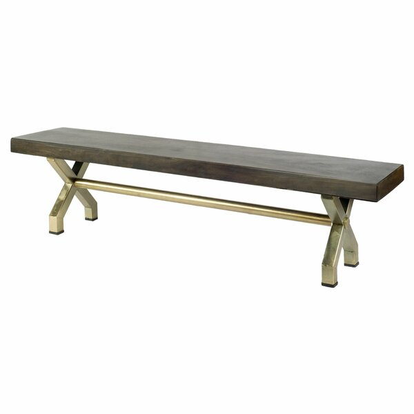 Ballou Wood Bench by Bloomsbury Market