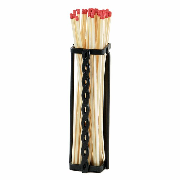 Dutton Rope Match Holder by Millwood Pines