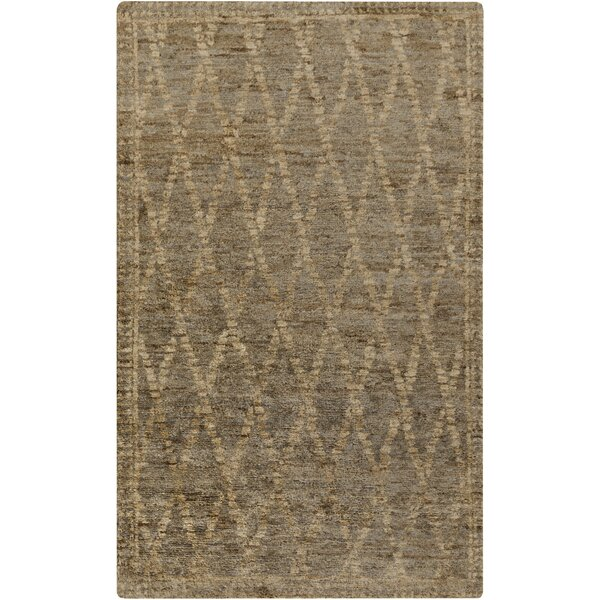 Elvera Beige / Gray Area Rug by Bungalow Rose