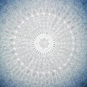 Moroccan Ice Graphic Art by Prestige Art Studios