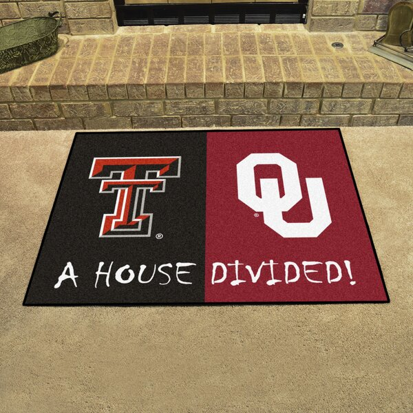 House Divided - Texas Tech / Oklahoma Doormat by FANMATS