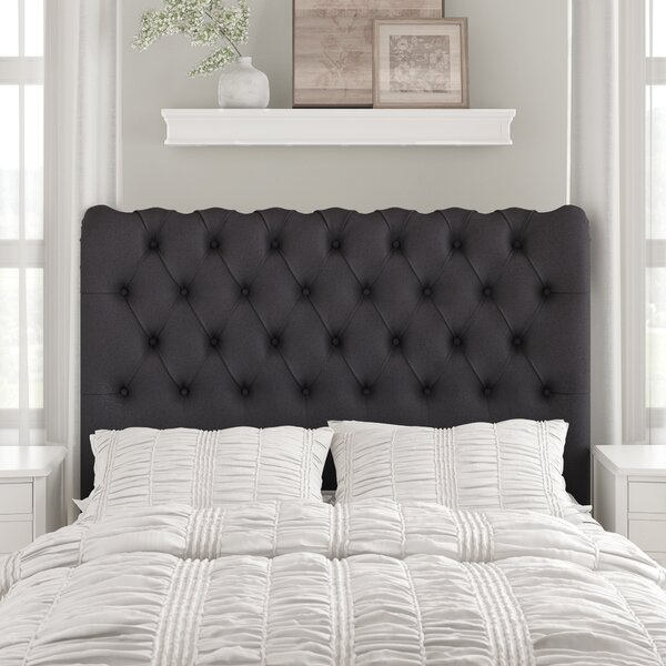 Agda Upholstered Sleigh Headboard by Birch Lane™ Heritage