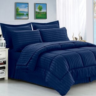 Navy Blue Comforter Set | Wayfair
