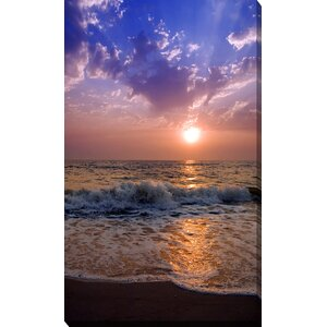 'Across the Sea' Photographic Print on Wrapped Canvas by Picture Perfect International