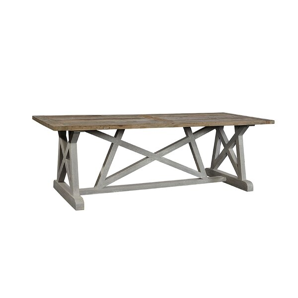 Wisconsin Solid Wood Dining Table by Ophelia & Co. Ophelia & Co.