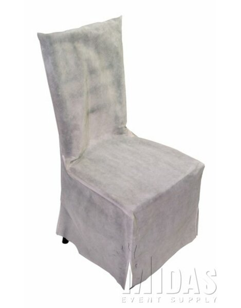 Legacy Box Cushion Dining Chair Slipcover by Midas Event Supply