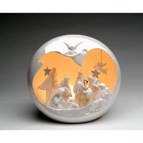 Large Nativity Globe Night Light by Cosmos Gifts