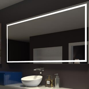 Bargain Harmony Illuminated Bathroom / Vanity Wall Mirror By Paris Mirror