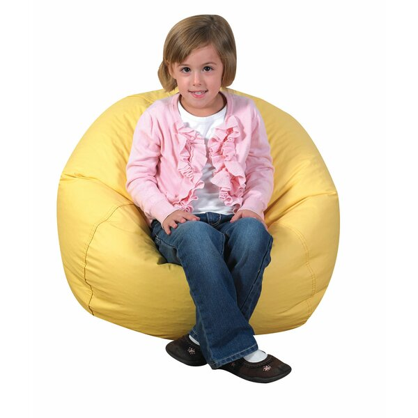 Small Faux Leather Classic Bean Bag By Children's Factory