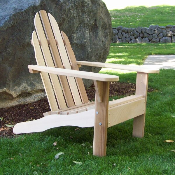 Idaho Wood Adirondack Chair by Wood Country Wood Country