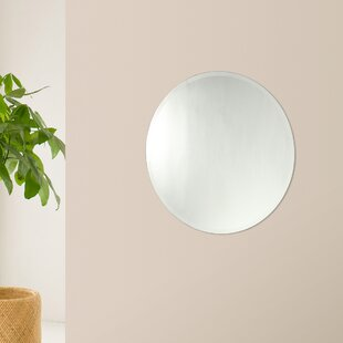 Orren Ellis Rollins Frameless Wall Mirror