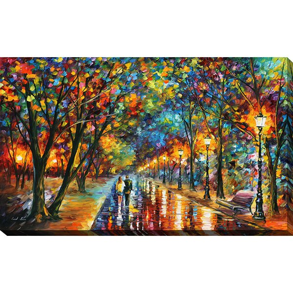 When The Dreams Came True By Leonid Afremov Painting Print On Wrapped Canvas By Winston Porter.