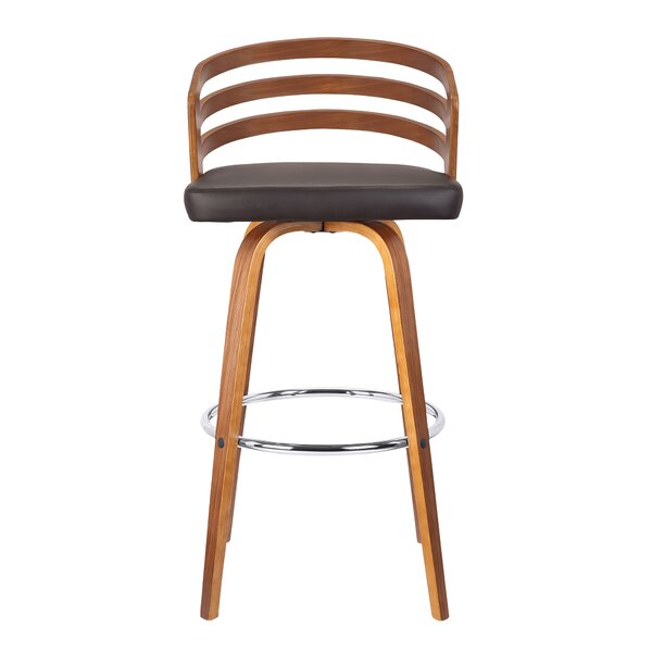 Wilkes Swivel Bar Stool by George Oliver