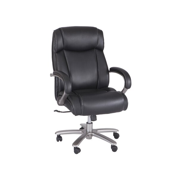 Kaylor Big and Tall High-Back Executive Chair by Symple Stuff