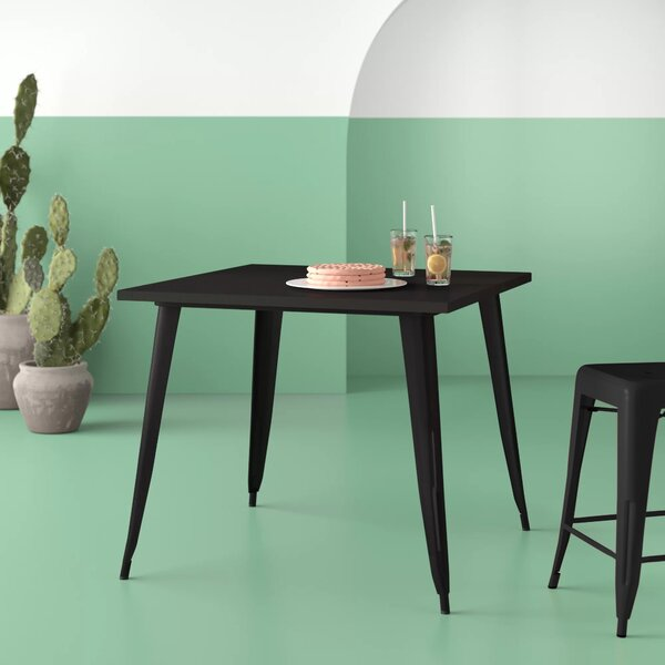 Brandt Metal Dining Table by Hashtag Home