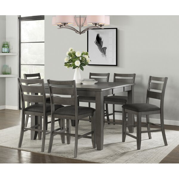 Osterhout 7 Piece Pub Table Set by Red Barrel Studio