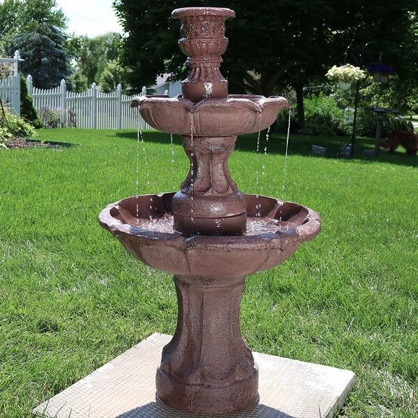 Fiberglass Goblet 3-Tier Garden Water Fountain by Wildon Home ®