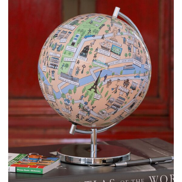 Paris Night Lights Globe by Waypoint Geographic