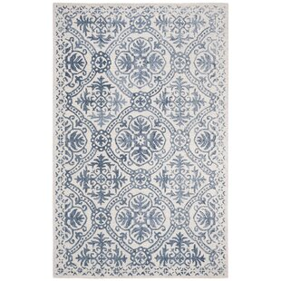 Nina Hand-Tufted Wool Navy/Ivory Area Rug By Lauren Ralph Lauren