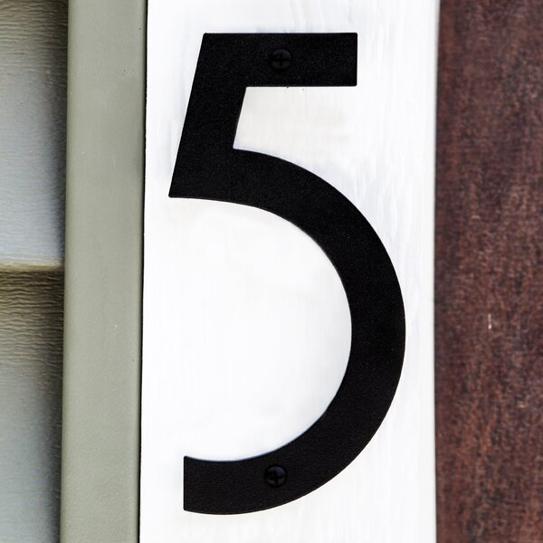 Noble Floating Mount House Number by Majestic MFG