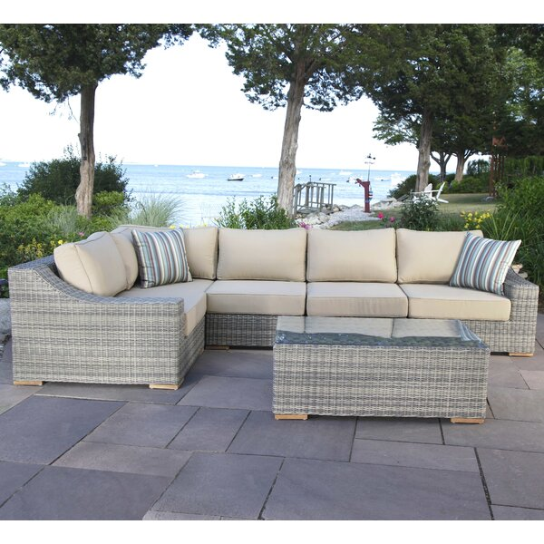 Corsica 6 Piece Sectional Set with Cushions by Madbury Road