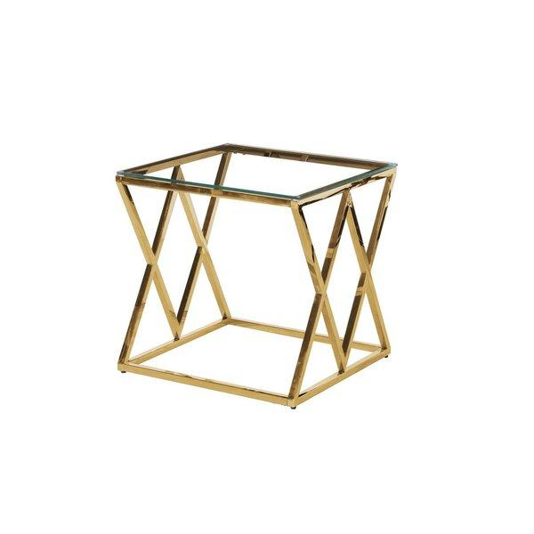 Kazuko End Table by Wrought Studio