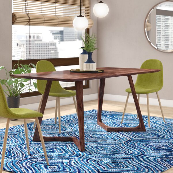 Hartleton Rectangular Dining Table by Wade Logan