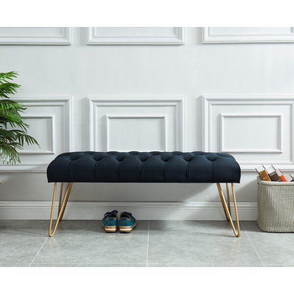 Logan Upholstered Bench by Mercer41