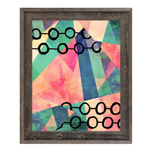 Inner Circuit Earnest Framed Graphic Art on Canvas by Click Wall Art