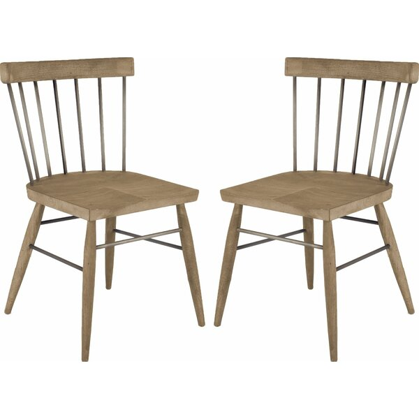 Aveza Solid Wood Dining Chair (Set Of 2) By Gracie Oaks Gracie Oaks