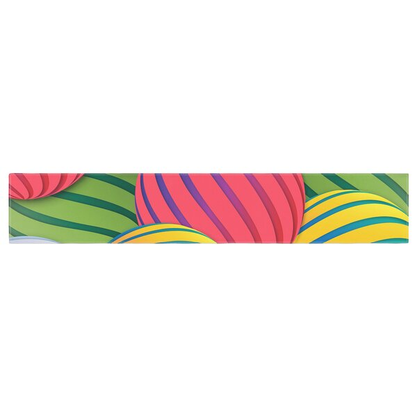 Danny Ivan Melons Table Runner by East Urban Home