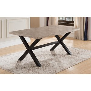Coleville Solid Marble Dining Table