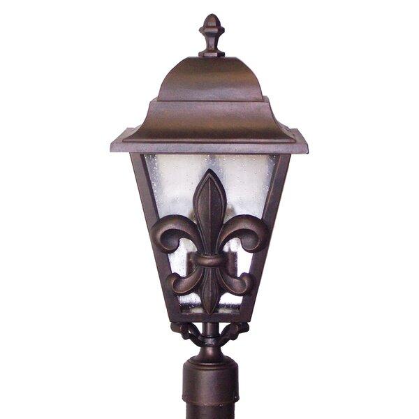 Penfield Fleur De Lis Series 3-Light Lantern Head by Alcott Hill