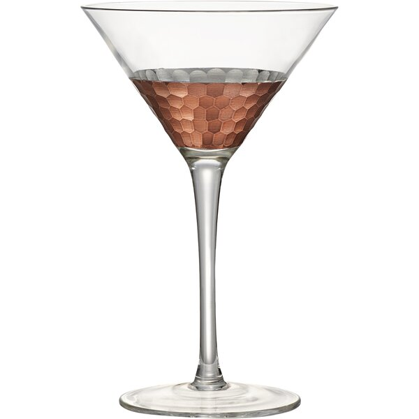 Gage Hammer Martini Glass (Set of 4) by Mint Pantry