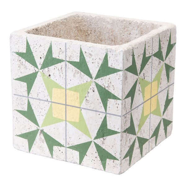 Ruiz Arrow Ceramic Pot Planter by Wrought Studio