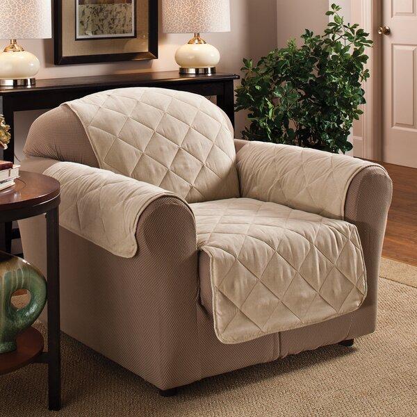 Pet Club Box Cushion Armchair Slipcover By Red Barrel Studio