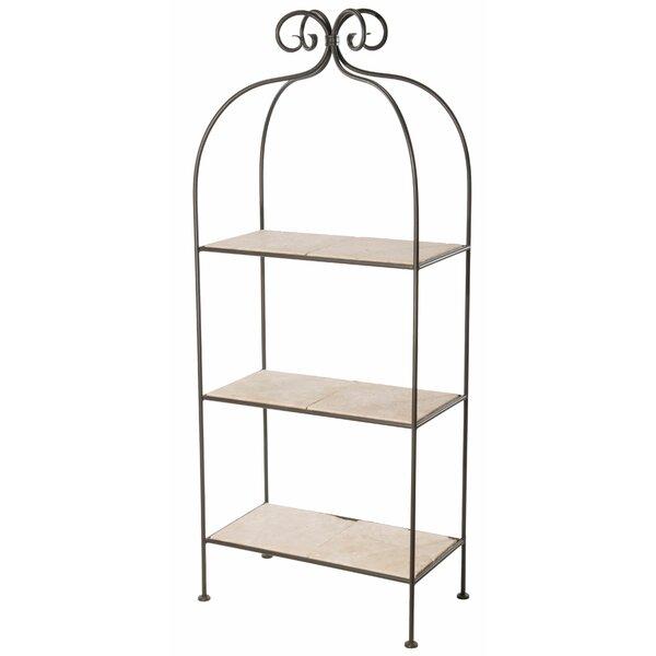 Churchill 3-Tier Etagere Bookcase by Fleur De Lis Living