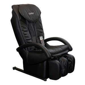 Faux Leather Reclining Massage Chair with Ot..