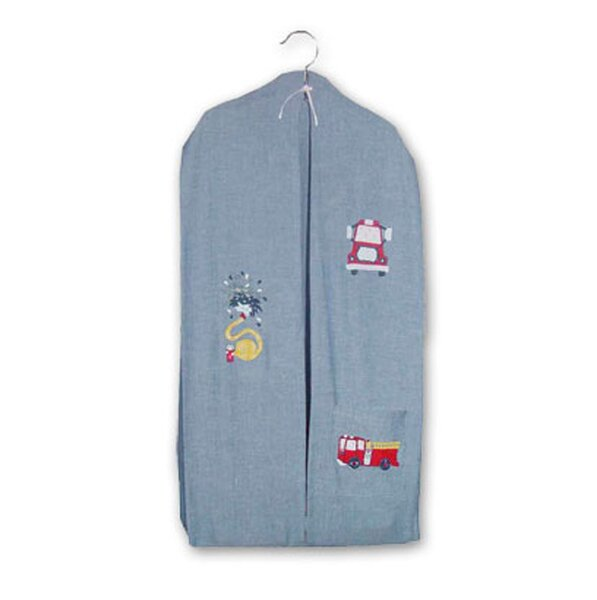 Fire Truck Cotton Diaper Stacker by Patch Magic
