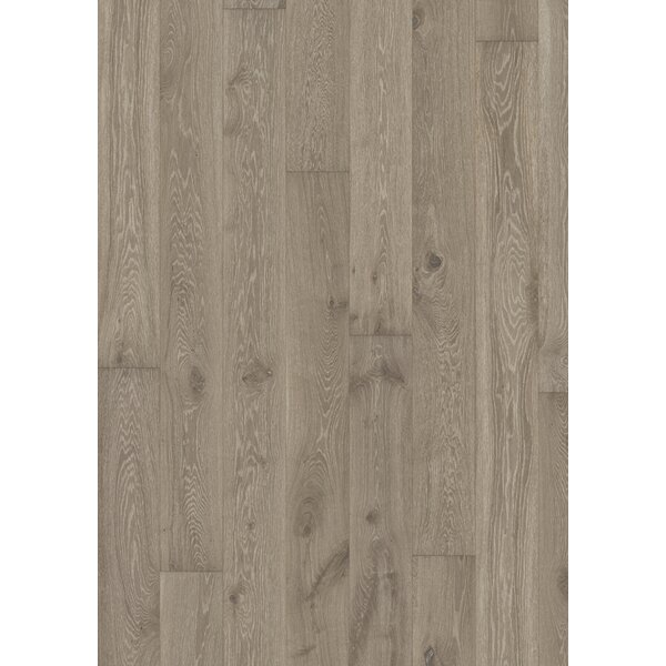 Classic Nouveau 7-3/8 Engineered Oak Hardwood Flooring in Gray by Kahrs