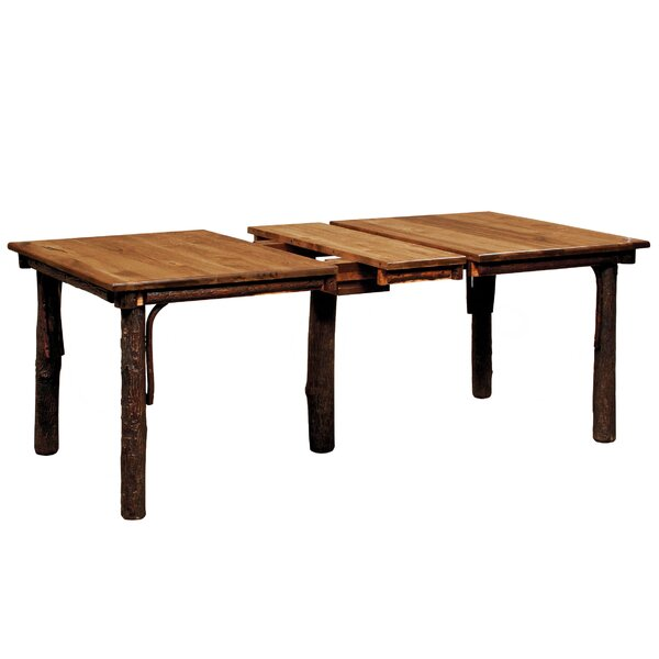 Quiles Extended Solid Wood Dining Table by Loon Peak Loon Peak
