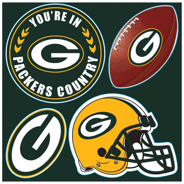 NFL 4 Piece Magnet Set by Team Pro-Mark