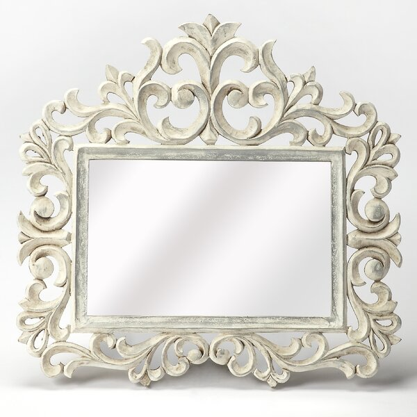 Carved Wall Mirror by One Allium Way
