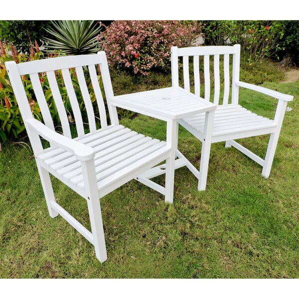Lenz Adirondack Chair with Table by Breakwater Bay Breakwater Bay