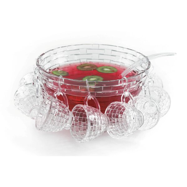 Irena 18 Piece Punch Bowl Set by Latitude Run