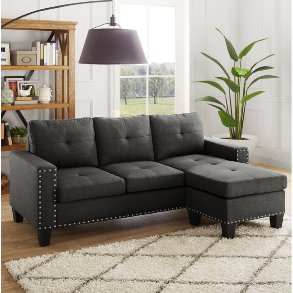 Weymouth Reversible Sectional by Ebern Designs