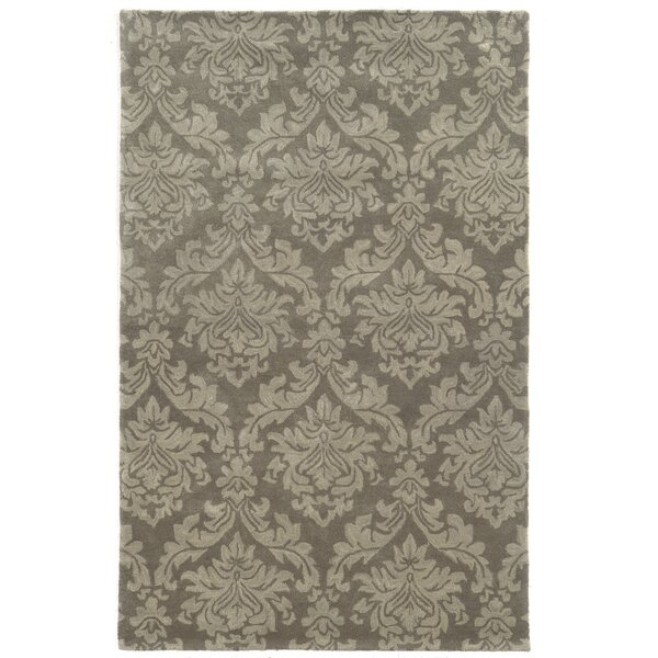 Malo Hand-Tufted Grey Area Rug by Meridian Rugmakers