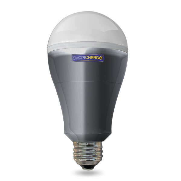 8 Watt E26/Medium (Standard) LED Light Bulb by SmartCharge